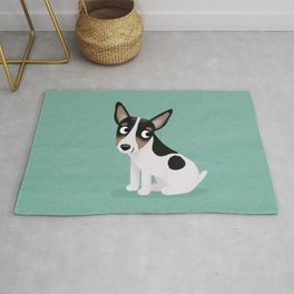 Rat Terrier - Cute Dog Series Rug