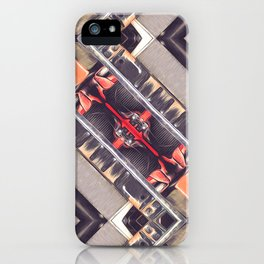 Abstract Geometric Automation iPhone Case