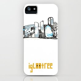 Notre Dame du Haut iPhone Case