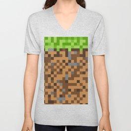Video Game Blocks Unisex V-Neck