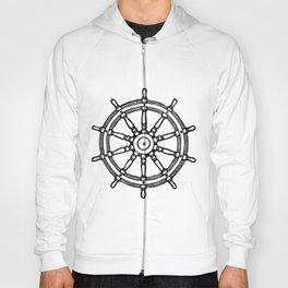 Ship's Helm - Captain's Wheel - Rudder Hoody