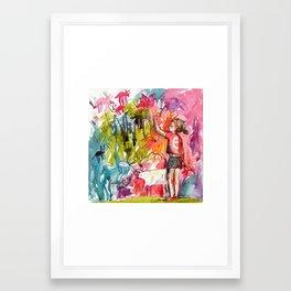 So much fun Framed Art Print