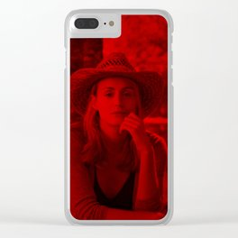 Taylor Schilling - Celebrity (Photographic Art) Clear iPhone Case