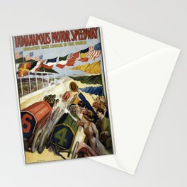 Vintage poster - Indianapolis Motor Speedway Stationery Cards