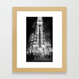 Big Joe Ready for Launch at Cape Canaveral Framed Art Print