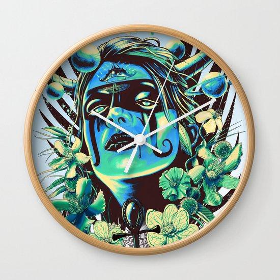 Hathor (Cool) Wall Clock
