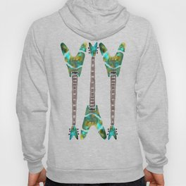 Guitar 1 Pattern - Dark Hoody