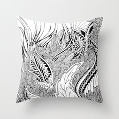 Enter the Forest Throw Pillow