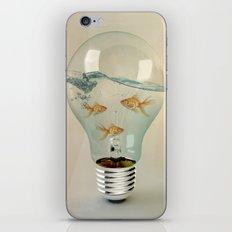 ideas and goldfish 03 iPhone Skin