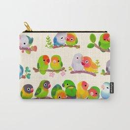 Lovebird Carry-All Pouch