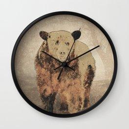 Formosan Black Bear Wall Clock