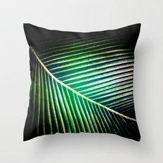 Green Collection Throw Pillow
