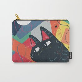 Trumpet Cat Carry-All Pouch