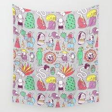 Yokai / Japanese Supernatural Monsters Wall Tapestry