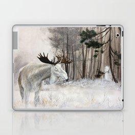 Forest Spirit - Moose Laptop & iPad Skin