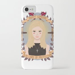 Buffy Summers iPhone Case