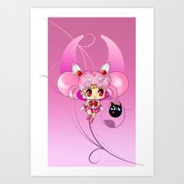 Sailor Mini Moon Art Print
