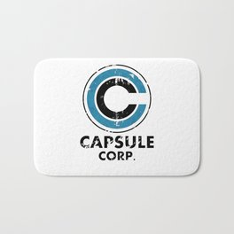 Capsule Corp Vintage bright Bath Mat