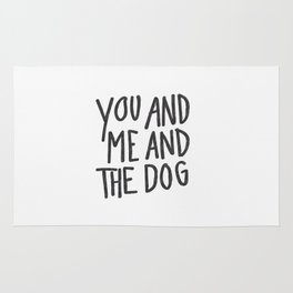 You, Me And Dog Rug
