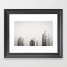 Three Buildings  Framed Art Print