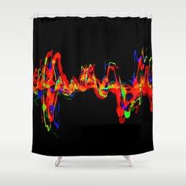 San Andreas Shower Curtain