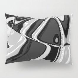 Black and White Pillow Sham
