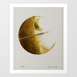 His Starwars Art Print