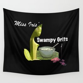 Miss Iris' Swampy Grits Wall Tapestry