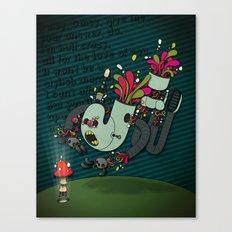 Daisy, Daisy! Canvas Print
