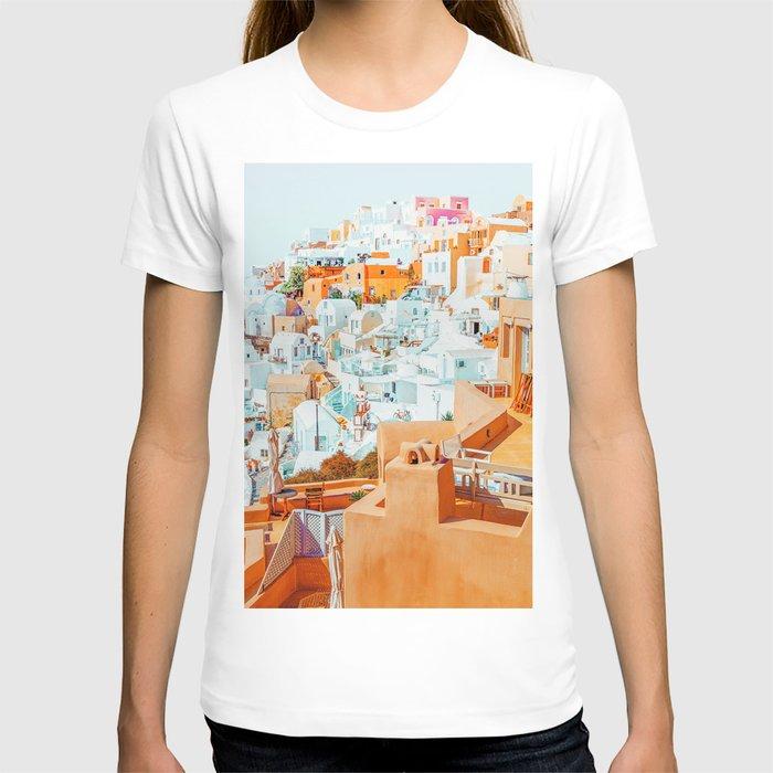 Santorini Vacay #photography #greece #travel T-shirt