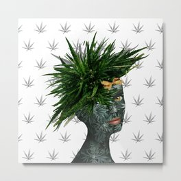A Portrait of Mary Jane Metal Print