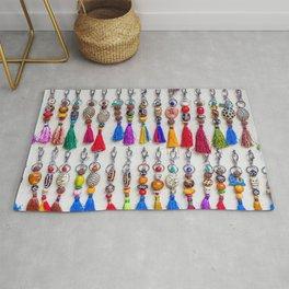 Colourful Keyrings Rug
