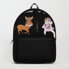 Your Aunt My Aunt Unicorn rainbow Backpack