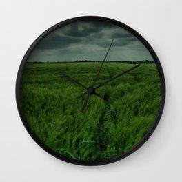 Storm Clouds Wall Clock