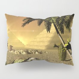 Pyramid in the sunet Pillow Sham