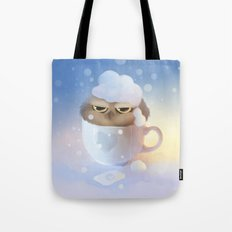 cup of owl Tote Bag
