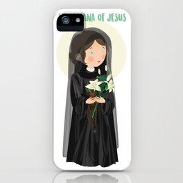Saint Mariana of Jesus  iPhone Case