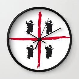Sardegna, 4 volte Wall Clock