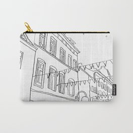 Brussels Street On a Summer Evening Carry-All Pouch