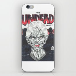 The Undead Are Hungry iPhone Skin