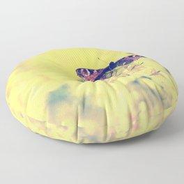 Sunshine and Butterflies Floor Pillow