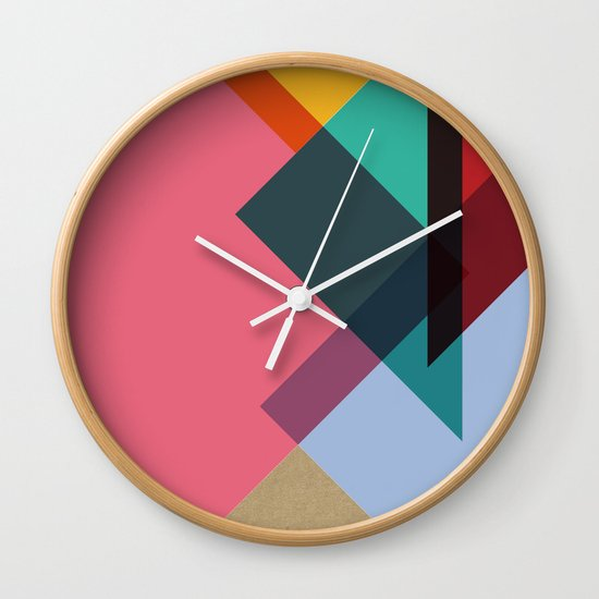 Triangles (Part 2) Wall Clock