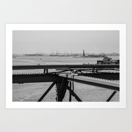 NYC Statue of Liberty Art Print