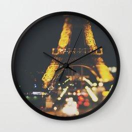 La Ville-Lumière ... Wall Clock