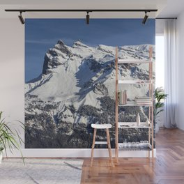 French Alps Wall Mural
