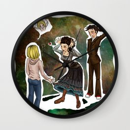 The Doctor's Wife Wall Clock