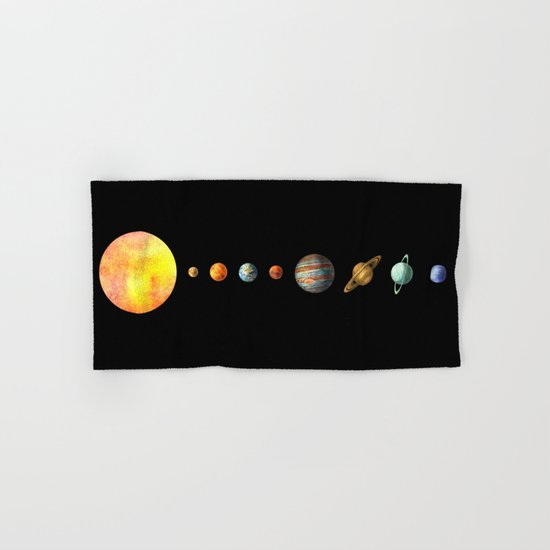 The Solar System Hand & Bath Towel
