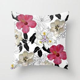 BOTANICAL BLISS Throw Pillow