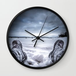 Frostbite Wall Clock