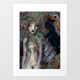 Coralia Art Print